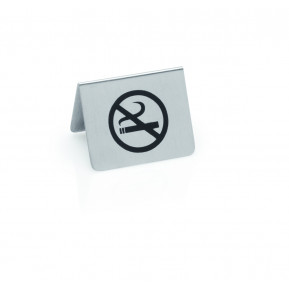 Tischaufsteller, 5x4cm, Symbol Nichtraucher