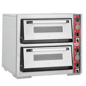 GMG Pizzaofen Classic 4 + 4x30cm mit Thermometer   Kochtechnik/Pizzaöfen/Doppelkammer-Pizzaöfen