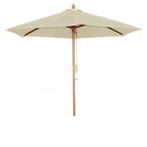 Sonnenschirm Bolero rund cremefarben 3 meter