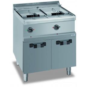 MBM Elektrofritteuse 13+13 Liter Dexion Serie 77 - 70/70