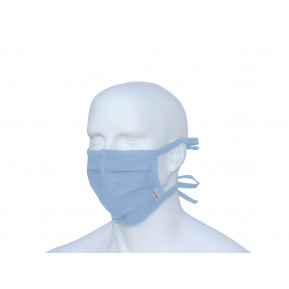 Karlowsky Stoffmaske - hellblau