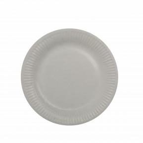 Papstar Papp-Teller, rund, Ø20 cm, beschichtet, weiß - 100 Stück