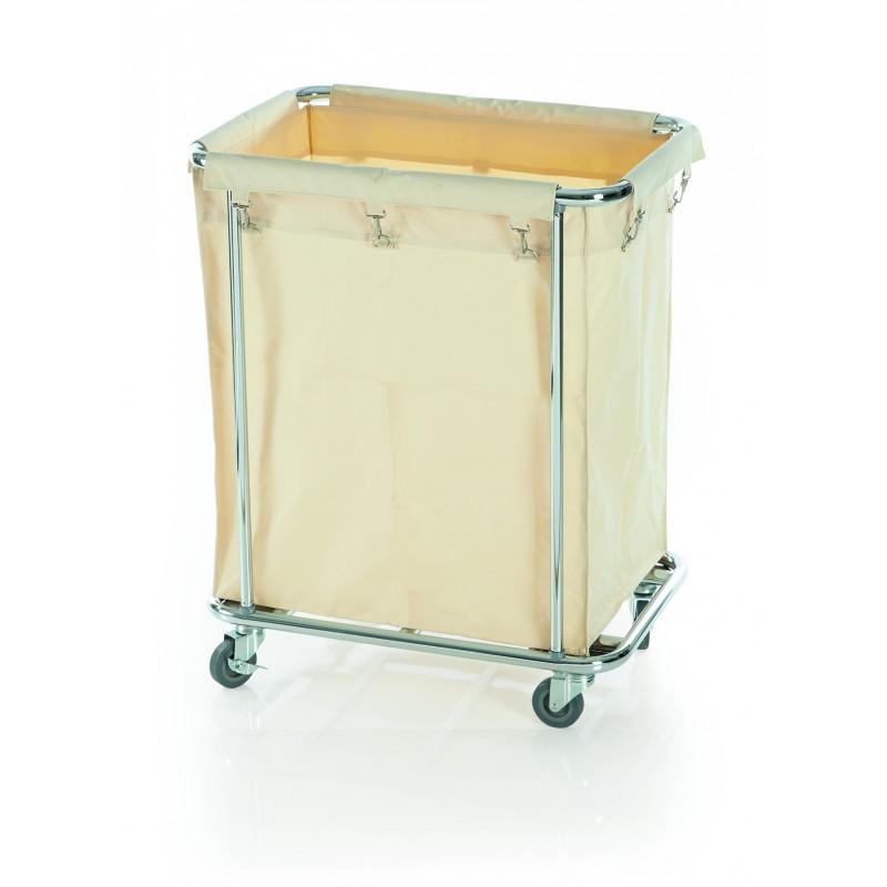 Wäschesammelwagen mit großem Wäschesack, 65x45x84cm Online-Shop ...