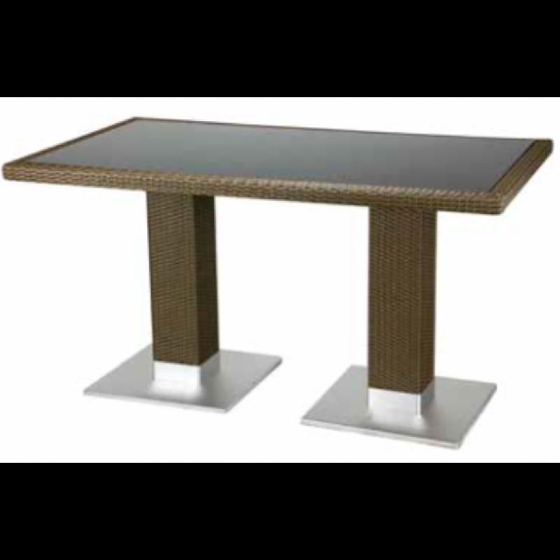 bartisch largo 140 x 80 mit glasplatte castana online shop gastro held austria. Black Bedroom Furniture Sets. Home Design Ideas