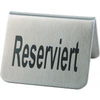 """APS Tischaufsteller """"Reserviert"""", 2er Set je 5,5 x 5 cm, H: 3,5 cm"""