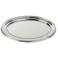 APS Partyplatte, oval -CLASSIC-  46 x 34 cm, Metall