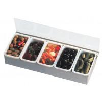 Speisen- / Gewürzbehälter inkl. 5 Behälter
