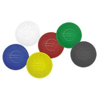 Pfandmünzen gelb - 100 Stück