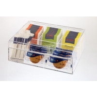 APS Teebox / Multibox -Kunststoff-, 22 x 17 cm, H: 9 cm