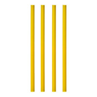 Papstar 135 Shake-Halme Ø 8 mm x H: 25 cm gelb