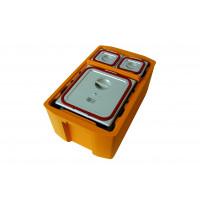 Rieber Thermobox 26 Liter Hybrid Toplader, schwarz