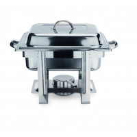 Chafing Dish 1/2 GN, Edelstahl
