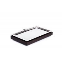 APS Kühltablett -FRAMES- Set 1 - GN 1/1, Schwarz - 53 x 32,5 cm, H: 8,5 cm