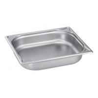 Blanco Edelstahl Gastronorm-Behälter GN 1/2 - 20 mm, Schale