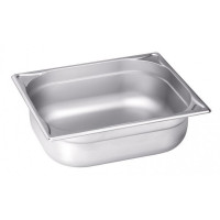 Blanco Edelstahl Gastronorm-Behälter GN 1/2 - 150 mm, Inhalt: 8,9 Liter