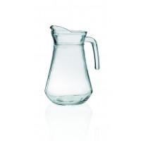 Glaskrug mit Eislippe - 1,0Liter