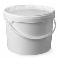 Kunststoff Eimer mit Deckel, Durchmesser 220x(H)290mm 11,5 Liter   Lager & Transport/Lebensmittelaufbewahrung/Eimer