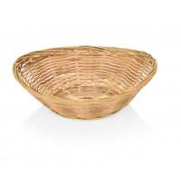 Bambus-Brotkorb, oval 28x21x7cm