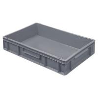 Euro-Stapelbehälter 600x400 mm, grau - 120 mm