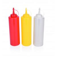 Dosier- / Quetschflasche, 0,70 Liter, rot
