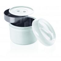 Kunststoff-Thermobehälter für 2 Einsätze -  3 Liter gesamt