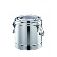 Thermo-Speisenbehälter mit Fallgriffen, 6 ltr.