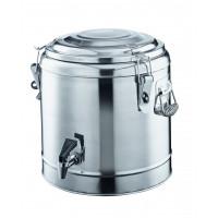 Thermo-Getränkebehälter mit Hahn - 31 Liter