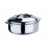 Thermobehälter aus Edelstahl mit Lappengriffen - 2,5 Liter | Lager & Transport/Speisentransport/Speisentransportbehälter