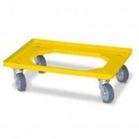 Transportroller gelb | Lager & Transport/Servier- & Transportwagen/Transportroller