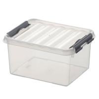 Klarsichtbehälter mit Deckel 200x150 mm -  100 mm | Lager & Transport/Lagerausstattung/Lager- & Transportbehälter