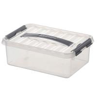 Klarsichtbehälter mit Deckel 300x200 mm -  100 mm | Lager & Transport/Lagerausstattung/Lager- & Transportbehälter