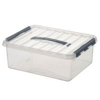 Klarsichtbehälter mit Deckel 600x400 mm - 340 mm | Lager & Transport/Lagerausstattung/Lager- & Transportbehälter