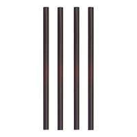 Papstar 500 Shake-Halme Ø 8 mm x H: 25 cm schwarz