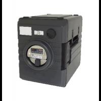 Rieber Thermobox 52 Liter Frontlader mit digitaler Umluftheizung, schwarz