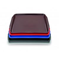 Tablett PP mit Griffen - 44,3x31,5cm - rot