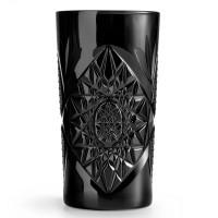 Hobstar Cooler Glas schwarz 473 ml
