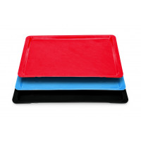 Tablett Polyester Euronorm, schwarz