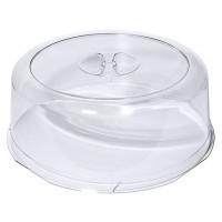 Tortenhaube klar, LURAN, Durchmesser: 33 cm, Höhe 12,5 cm
