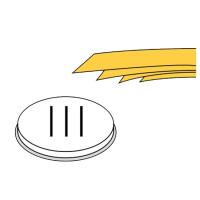 Nudelformscheibe Pappardelle 57