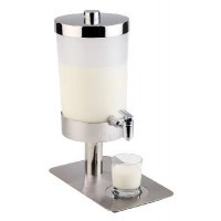 Milchdispenser -Sunday-  ca. 21x35cm, Höhe 48cm, 6 ltr