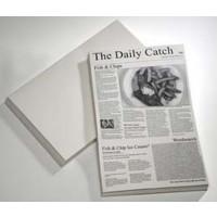 Wachspapier Motiv Zeitung, 42x27cm - 500 Stück