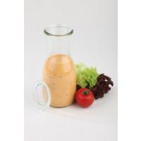 APS Weck-Saftflaschen mit Deckel 12-teiliges Set