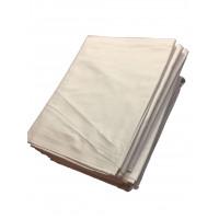 Bettlaken TB 21 / G 1, 100% Baumwolle, weiß, 160 x 265 cm + 30 cm Kappe