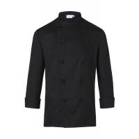 Herrenkochjacke Basic, schwarz, Größe: 4XL