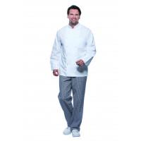 Herrenkochjacke Basic, weiß, Größe: 2XL