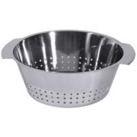 Küchen- Abtropfsieb 24 cm, hochglänzend
