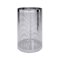 Papierkorb / Schirmständer perforiert, Durchmesser: 30 cm, Höhe 55 cm