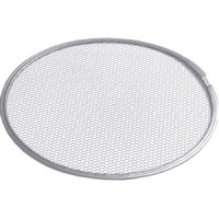 Pizza Screen/Gitter aus Aluminium- Streckgewebe, Durchmesser: 25 cm