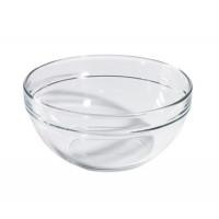 Glasschale mit 1l, stapelbar