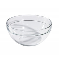 Glasschale mit 2,6l, stapelbar